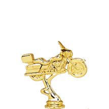 Road Motorcycle Gold Trophy Figure