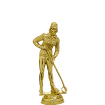 Ringette Gold Trophy Figure