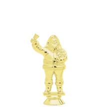Santa Claus Gold Trophy Figure