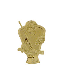Inline Skate 3-D Gold Trophy Figure