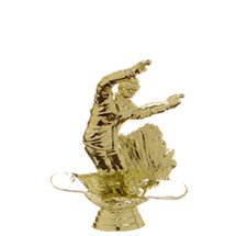 Snowboard Gold Trophy Figure