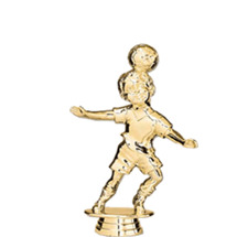 Soccer Tyke Male Gold Trophy Figure