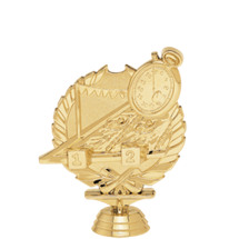 Swim 3-D Gold Trophy Figure