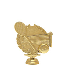 Tennis 3-D Gold Trophy Figure