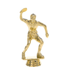 Ping Pong Male Gold Trophy Figure