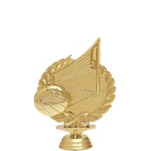 Volleyball 3-D Gold Trophy Figure