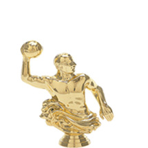 Water Polo Male Gold Trophy Figure