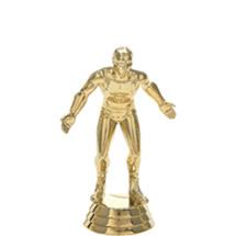 Wrestler Gold Trophy Figure