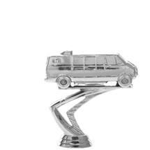 Van Silver Trophy Figure