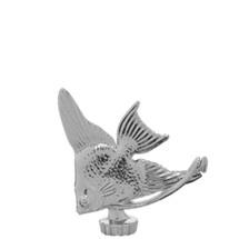 Angel Fish Silver Trophy Figure