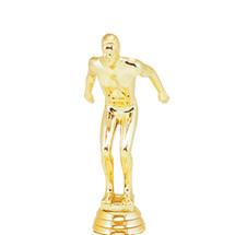 Swimmer Male Gold Trophy Figure