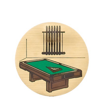 Billiards Emblem