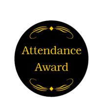 Attendance Award Emblem