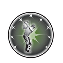 Male Golf Emblem
