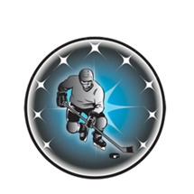Male Ice Hockey Emblem