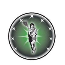 Female Lacrosse Emblem