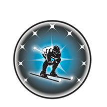 Downhill Skier Emblem