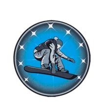 Male Snowboarding Emblem