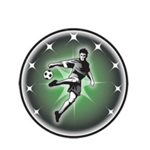 Male Soccer Emblem