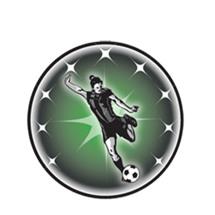 Female Soccer Emblem