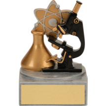 "4"" Colorful Science Award"