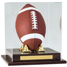 "12 x 12 x 12"" Football Display Case"