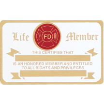 Firefighter Membership Card
