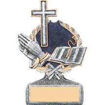 """5"""" Resin Religious Trophy"""