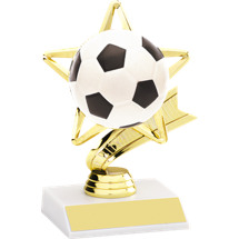 "Soccer Trophy - DINN DEAL! 6 1/4"" Soccer Star Trophy"