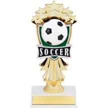 """Soccer Trophy - 7 1/2"""" Soccer Stars Trophy"""