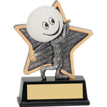"5"" Little Pal Resin Golf Award"