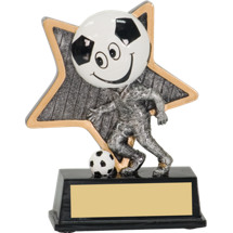 "Soccer Trophy - 5"" Little Pal Soccer Resin Award"
