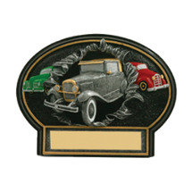 "7 x 5 1/2"" Antique Car 3D Resin Trophy"
