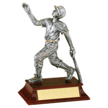 "6"" Baseball Resin Male Trophy"