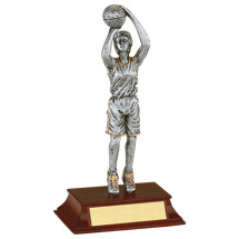 "Basketball Trophy - Female - 7 1/2"" Resin Trophy"