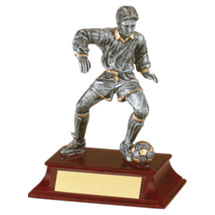 "Soccer Trophy - Male - 5 1/2"" Resin Trophy"