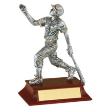 "6"" Softball Resin Female Trophy"