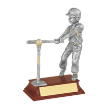 "T-ball Trophy - Female - 5 1/2"" Resin Trophy"