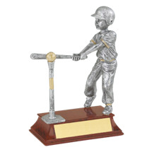"T-ball Trophy - Male - 5 1/2"" Resin Trophy"