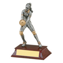 "Volleyball Trophy - Female - 5 1/2"" Resin Trophy"