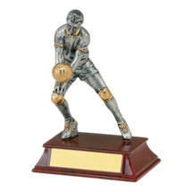 "Volleyball Trophy - Male - 5 1/2"" Resin Trophy"