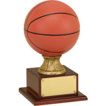 "Basketball Trophy - 16 1/2"" Resin Basketball Trophy"