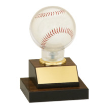 "Baseball Trophy - 7"" Baseball Display Trophy"