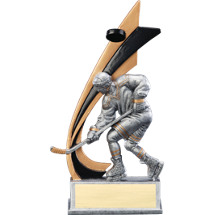 "8"" Male Hockey Trophy"