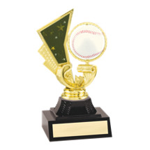 "6 1/4"" Spinning Baseball Trophy"