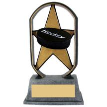 "5"" Economical Star Resin Hockey Trophy"