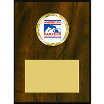 Walnut-Tone Winners' Circle Plaque with ADA Emblem