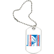 American Darters Association Sports Tag with Key Chain
