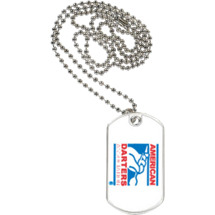 American Darters Association Sports Tag with Neck Chain