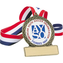 "2 3/4"" Official AYSO Soccer Medal"